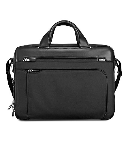 TUMI Arrivé Sawyer briefcase (Black