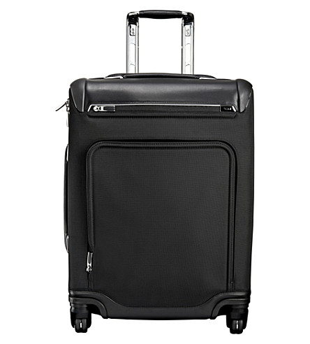 TUMI Arrivé Raleigh continental carry-on suitcase (Black