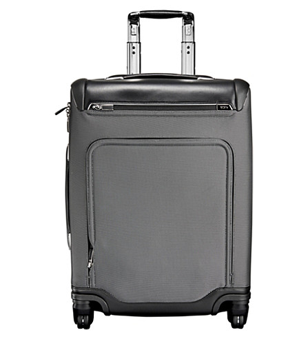 TUMI Arrivé Raleigh continental carry-on suitcase (Pewter