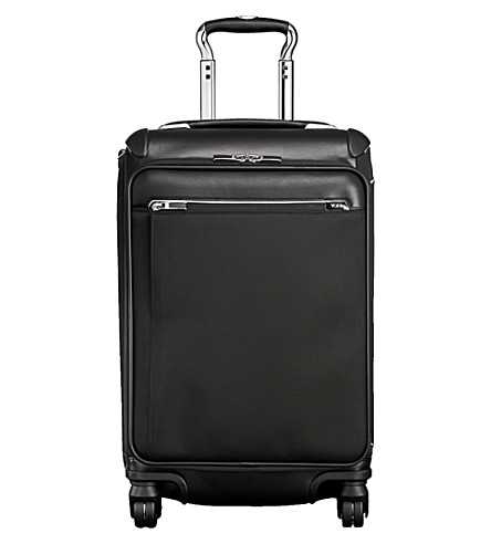 TUMI Gatwick international fabric suitcase (Black