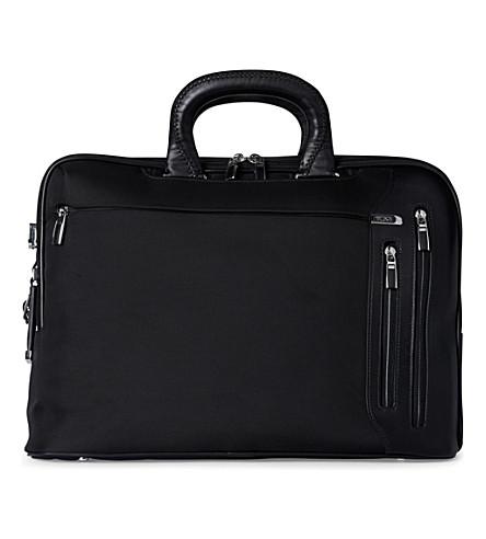 TUMI Arrivé Narita slim briefcase (Black