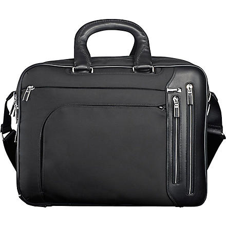 TUMI Arrivé Kennedy T–pass briefcase (Black