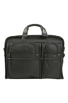 TUMI Expandable large screen computer brief
