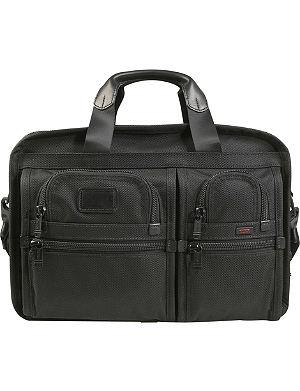 TUMI Alpha 2 expanding organiser laptop briefcase