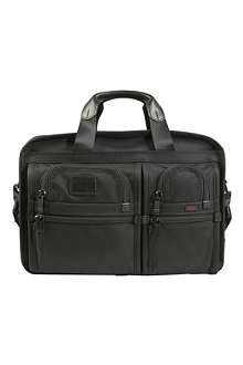 TUMI Alpha expandable laptop briefcase