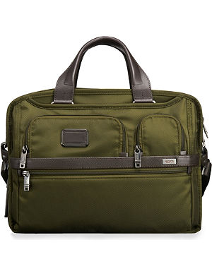 TUMI Alpha 2 expandable organiser laptop briefcase