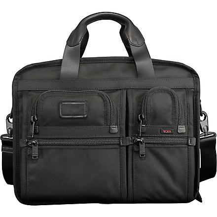 TUMI T-Pass expandable briefcase (Black