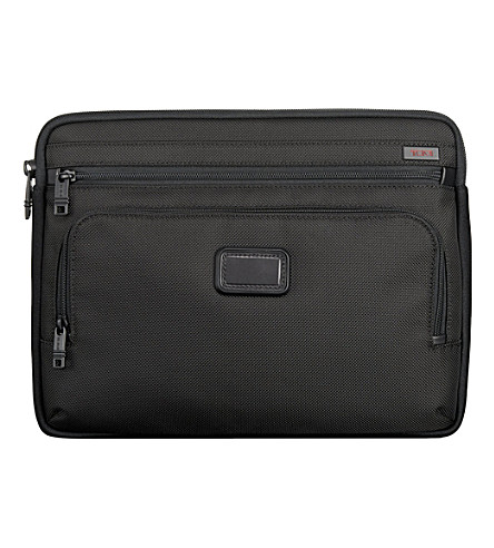 TUMI Medium laptop cover (Black