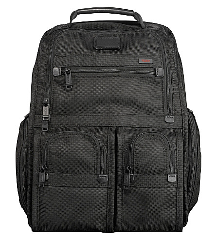 TUMI Alpha compact laptop backpack (Black