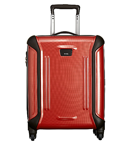 TUMI Vapor Continental four-wheel carry-on (Lipstick