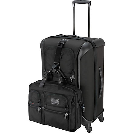 TUMI Alpha Lightweight medium four-wheel suitcase 71cm (Black