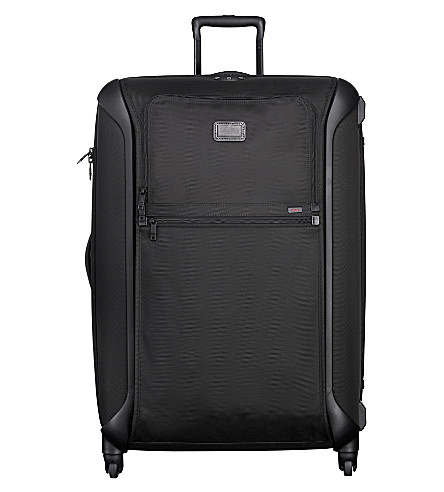 TUMI Alpha Lightweight extra large four-wheel suitcase (Black