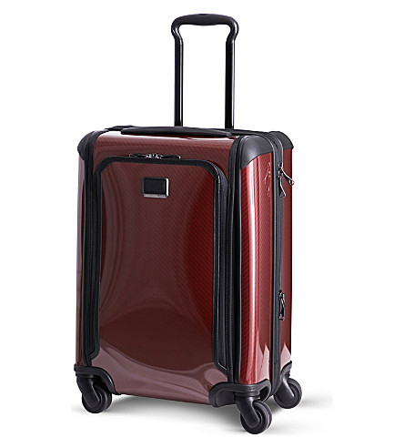 TUMI Tegra-Lite Max Continental four-wheeled expandable carry-on (Crimson