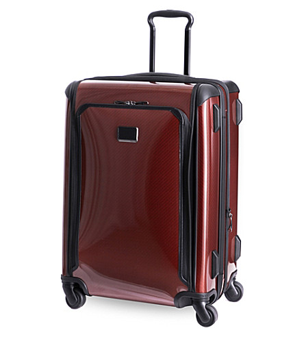 TUMI Tegra-Lite medium trip expandable four-wheel suitcase (Crimson