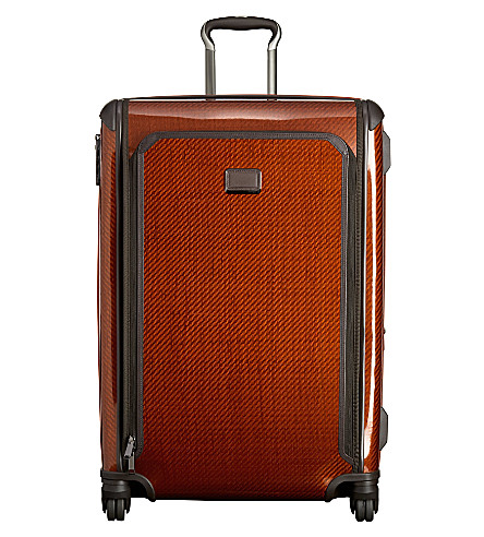 TUMI Tegra-Lite expandable large trip four-wheel suitcase (Sunr