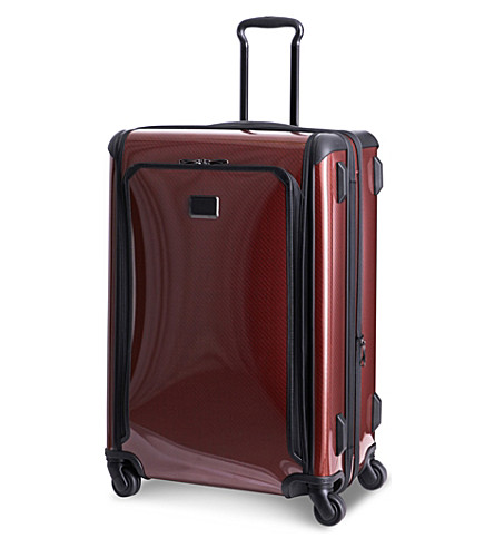 TUMI Tegra-Lite expandable large trip four-wheel suitcase (Crimson
