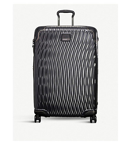 TUMI Latitude Extended Trip packing four-wheel suitcase (Black