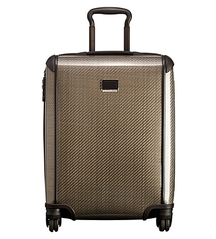 TUMI Tegra-Lite 28821 four-wheel continental carry-on suitcase (Fossil