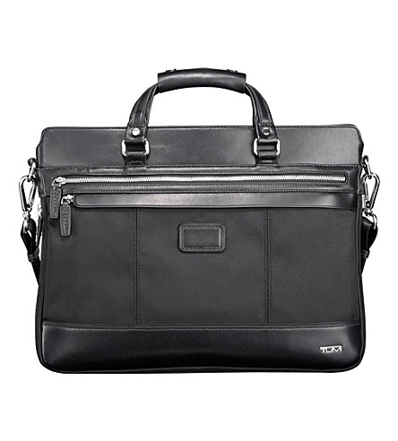 TUMI Bedford Jefferson slim briefcase (Black