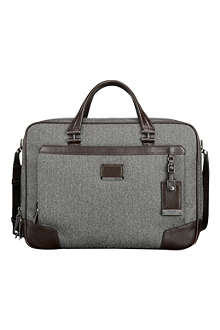 TUMI Ansonia zip top briefcase