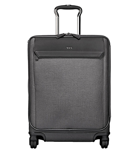TUMI Reeves Continental expandable carry-on suitcase (Grey