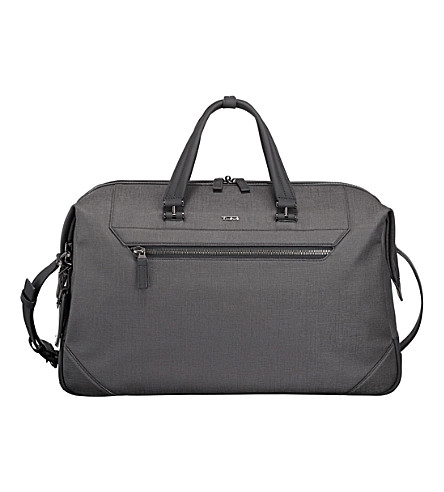 TUMI Lenox canvas duffel bag (Grey