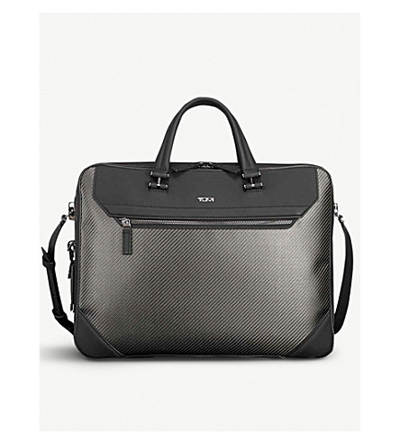 TUMI Coleford carbon fiber brief bag (Carbon