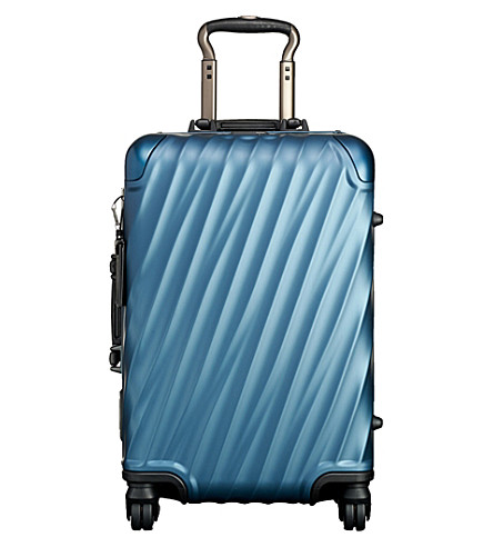 TUMI International carry on case (Blue