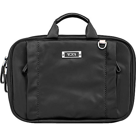 TUMI Voyageur Monaco travel cosmetic case (Black