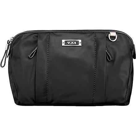 TUMI Voyageur Enna large cosmetic case (Black
