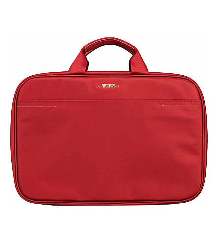 TUMI Monaco travel kit (Crimson