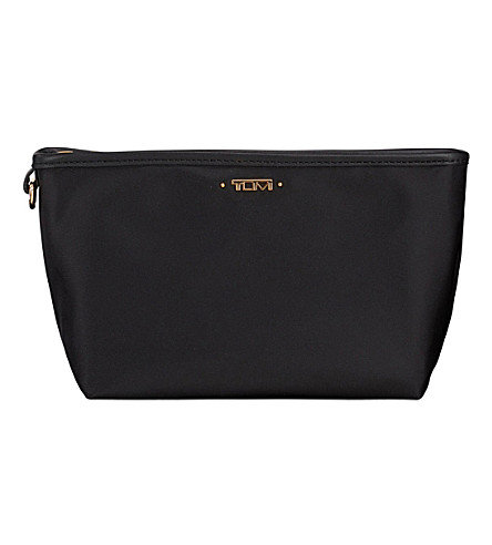 TUMI Addie nylon pouch (Black