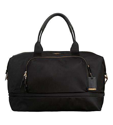 TUMI Voyageur durban expandable duffle bag (Black