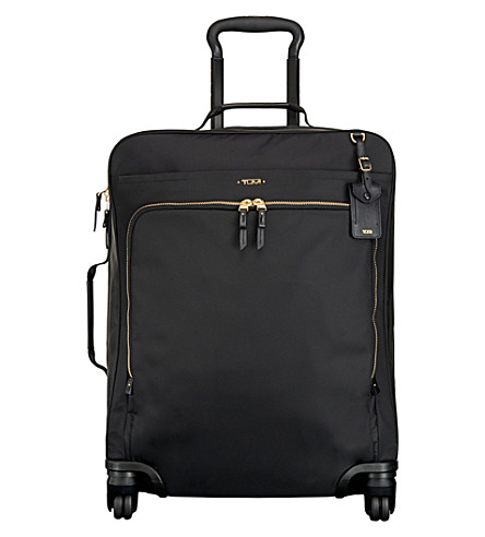 TUMI Voyageur Super Léger Continental 4-wheel carry-on (Black