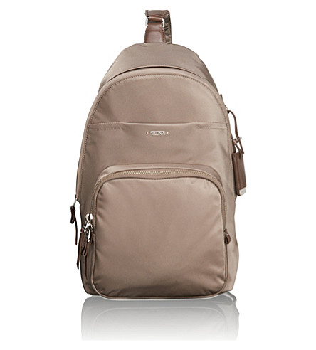 TUMI Brive sling backpack (Fossil