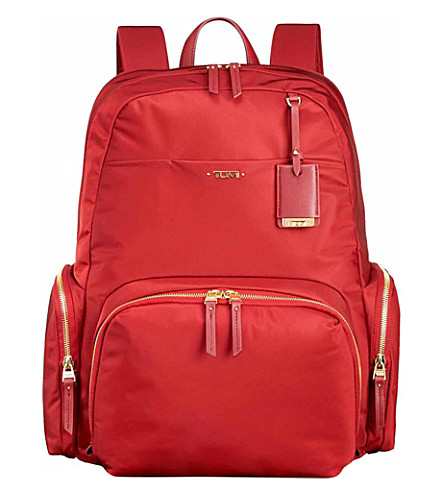 TUMI Calais backpack (Crimson