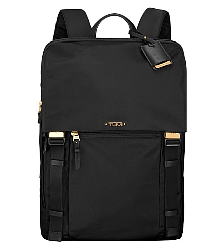 TUMI Sacha flap-front backpack (Black