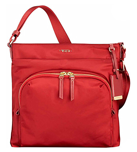 TUMI Capri crossbody bag (Crimson