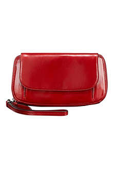TUMI Santa Monica Fraser zip-around continental clutch