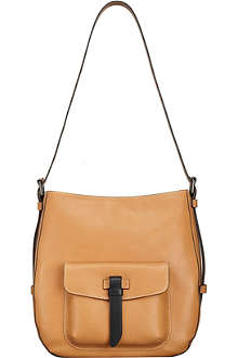 TUMI Santa Monica Mabery convertible leather hobo
