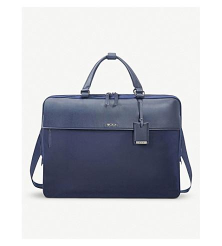 ... TUMI Westport slimline leather briefcase (Marine. PreviousNext 428e0091b9