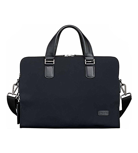 TUMI Seneca slim brief bag (Black
