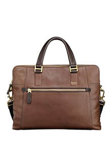 TUMI Beacon Hill Branch laptop leather briefcase