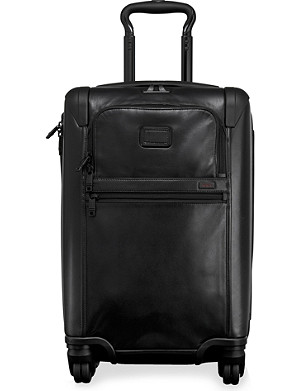 TUMI Alpha 2 International expandable four-wheel carry-on suitcase