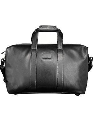 TUMI Alpha 2 nappa leather small travel satchel