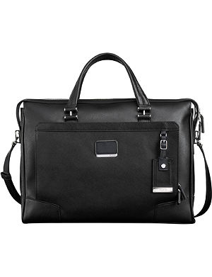 TUMI Astor Regis slim zip-top briefcase
