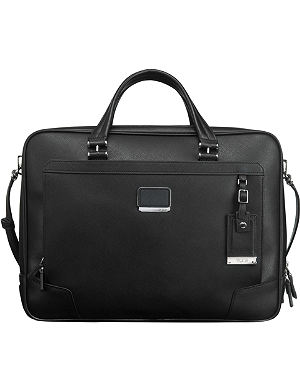 TUMI Ansonia zip-top briefcase