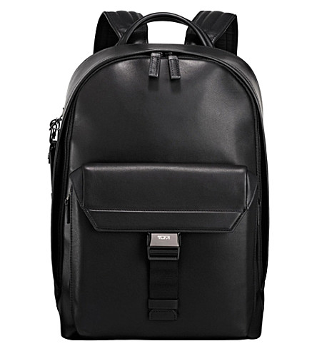TUMI Morrison leather backpack (Black