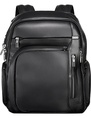 TUMI Arrivé kingford leather backpack