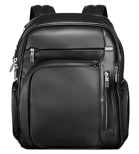 TUMI Arrivé kingford leather backpack (Black